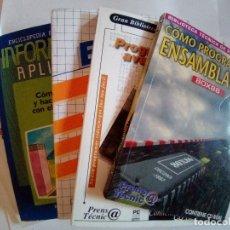 Libros de segunda mano: LOTE 5 LIBROS DE INFORMATICA VER FOTOS. Lote 172254020
