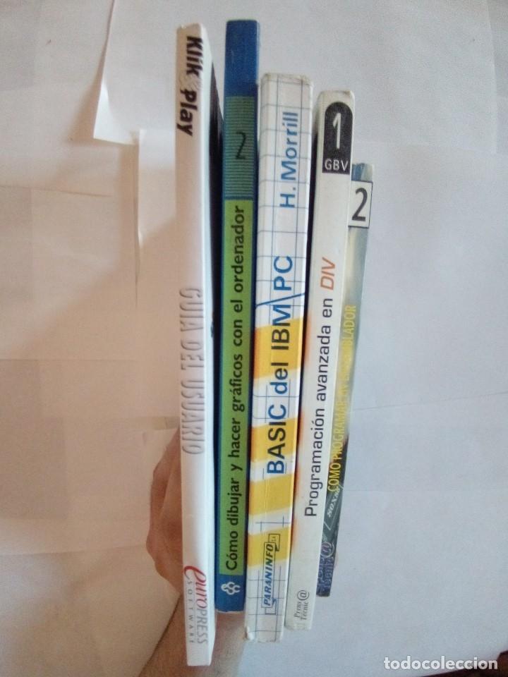 Libros de segunda mano: LOTE 5 LIBROS DE INFORMATICA VER FOTOS - Foto 2 - 172254020