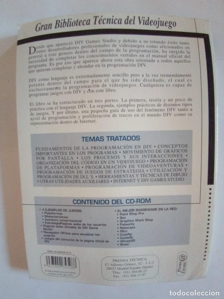 Libros de segunda mano: LOTE 5 LIBROS DE INFORMATICA VER FOTOS - Foto 8 - 172254020