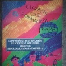 Libros de segunda mano: LA INFORMÁTICA EN LA EDUCACIÓN. Lote 172927808