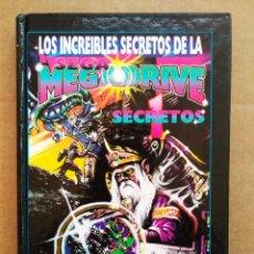 Libros de segunda mano: LOS INCREÍBLES SECRETOS DE LA SEGA MEGA DRIVE 1, POR J. DOUGLAS ARNOLD (EDICIONES B). MEGADRIVE. Lote 173139102