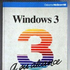 Livros em segunda mão: WINDOWS 3 A SU ALCANCE - TOM SHELDON (OSBORNE MCGRAW-HILL 84-7615-602-2). Lote 173253862