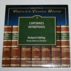 Libros de segunda mano: CLASICOS DE LA LITERATURA UNIVERSAL 1, CAPITANES INTREPIDOS, CD MULTIMEDIA. Lote 173526343