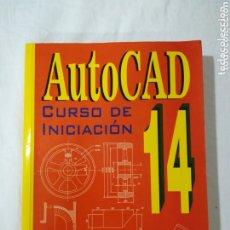 Libros de segunda mano: AUTOCAD 14 CURSO DE INICIACIÓN - JORDI CROS. Lote 173834909