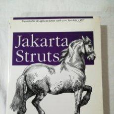 Libros de segunda mano: MANUAL JAKARTA STRUTS - DESARROLLO APLICACIONES WEB - ANAYA - LIBRO INFORMÁTICA. Lote 173835092