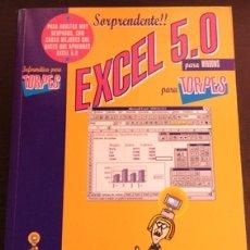 Libros de segunda mano: EXCEL 5.0 PARA TORPES. - SUAREZ, JOAQUIN Mª.. Lote 173691312