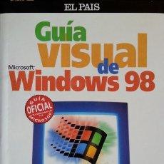 Libros de segunda mano: GUIA VISUAL DE WINDOWS 98.. Lote 173695915