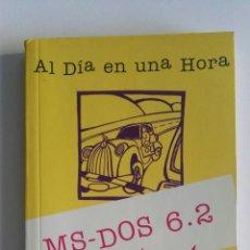 Libros de segunda mano: MS-DOS 6.2. Lote 174419279