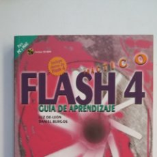 Libros de segunda mano: FLASH 4 PRÁCTICO, GUÍA DE APRENDIZAJE - LUZ DE LEÓN FERNÁNDEZ. OSBORNE MCGRAW-HILL. TDK413. Lote 174901729