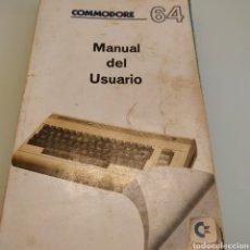 Libros de segunda mano: COMMODORE 64 MANUAL DEL USUARIO. Lote 175144885
