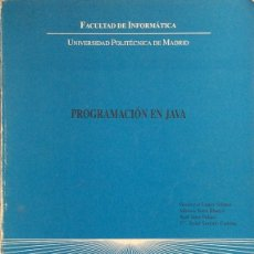 Libros de segunda mano: PROGRAMACIÓN EN JAVA - AA. VV.. Lote 175378443