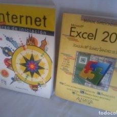 Libros de segunda mano: INTERNET Y EXCEL 2000. Lote 175410144