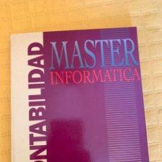 Libros de segunda mano: LIBRO CONTABILIDAD INFORMÁTICA. Lote 175743724