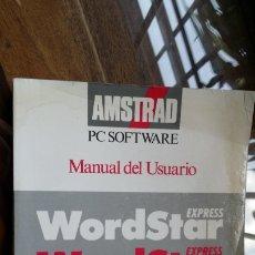 Libros de segunda mano: AMSTRAD PC SOFTWARE, MANUAL DEL USUARIO. Lote 175917739