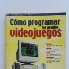 Libros de segunda mano: COMO PROGRAMAR TUS PROPIOS VIDEOJUEGOS. Lote 175927309