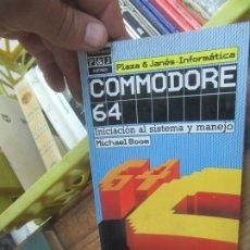 Libros de segunda mano: COMMODORE 64, MICHAEL BOOM. L.19132-34. Lote 176813625