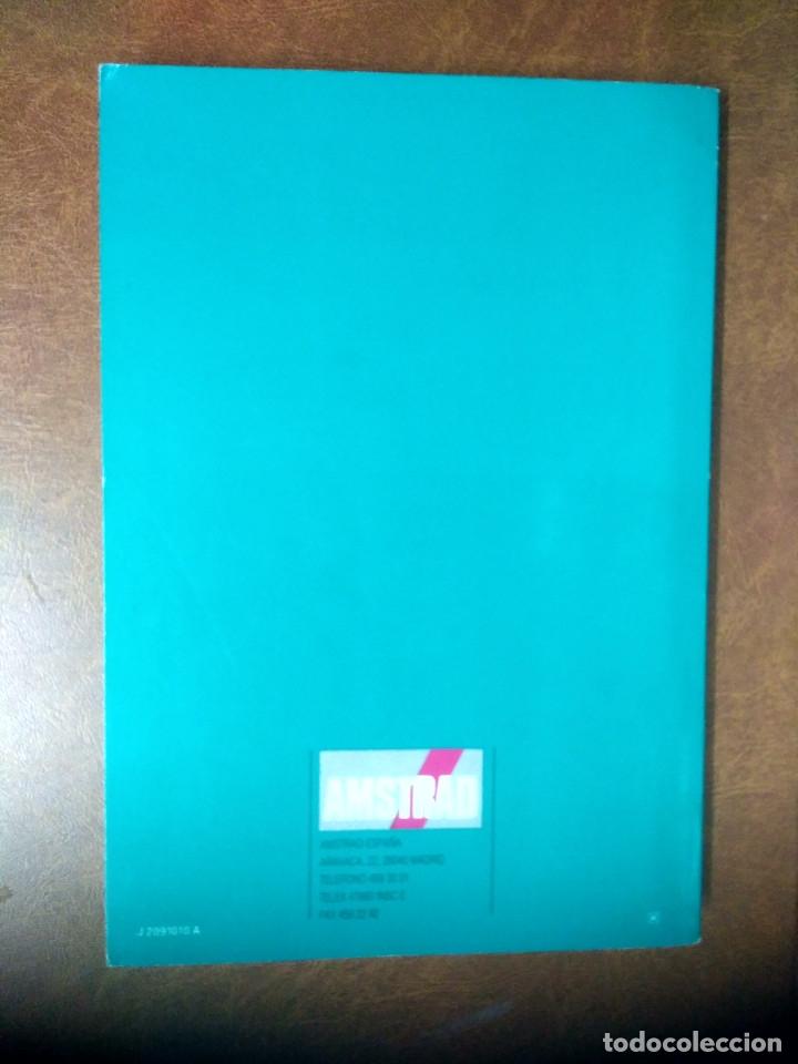 Libros de segunda mano: AMSTRAD PCW 8256/8512 - TOMO 2 MANUAL DE BASIC - AMSTRAD ESPAÑA 1987 - Foto 2 - 177020448