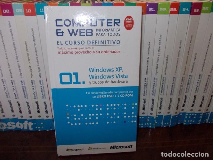 Libros de segunda mano: Computer y Web, 30 tomos El Mundo 2.009. Cada tomo con 3 CD - Foto 2 - 178007935