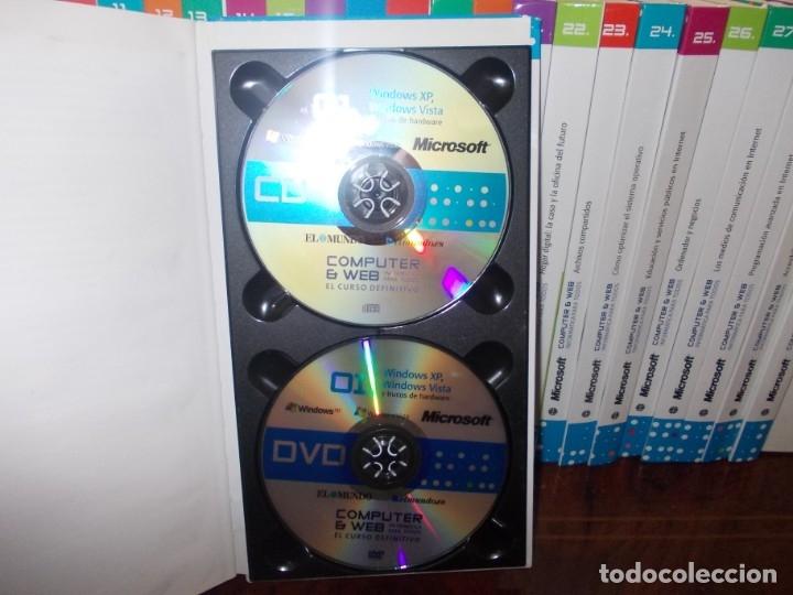 Libros de segunda mano: Computer y Web, 30 tomos El Mundo 2.009. Cada tomo con 3 CD - Foto 3 - 178007935