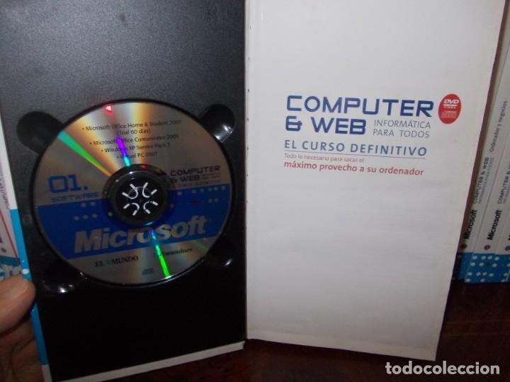 Libros de segunda mano: Computer y Web, 30 tomos El Mundo 2.009. Cada tomo con 3 CD - Foto 4 - 178007935
