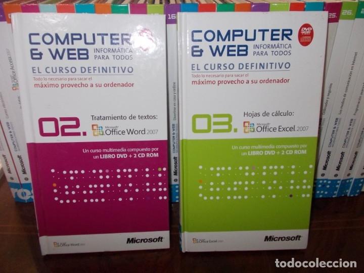 Libros de segunda mano: Computer y Web, 30 tomos El Mundo 2.009. Cada tomo con 3 CD - Foto 9 - 178007935