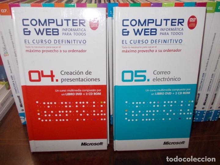 Libros de segunda mano: Computer y Web, 30 tomos El Mundo 2.009. Cada tomo con 3 CD - Foto 10 - 178007935