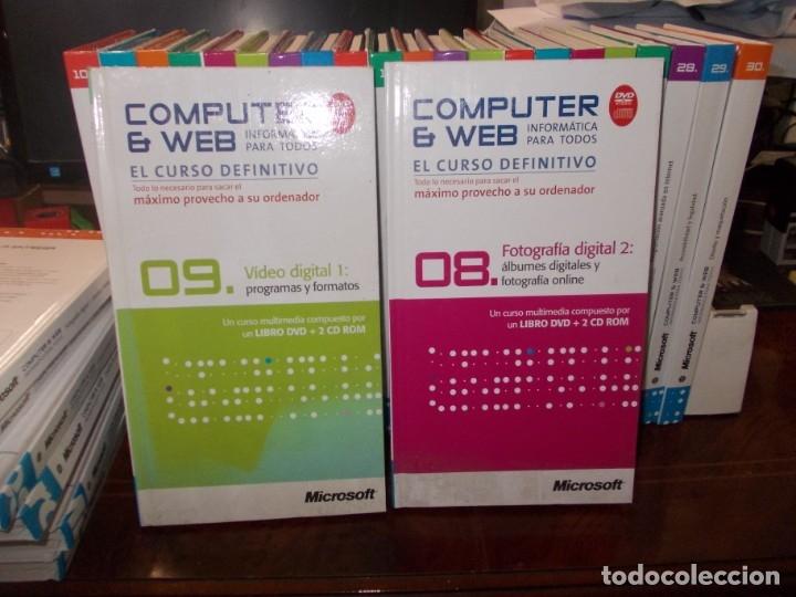 Libros de segunda mano: Computer y Web, 30 tomos El Mundo 2.009. Cada tomo con 3 CD - Foto 12 - 178007935