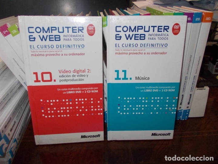 Libros de segunda mano: Computer y Web, 30 tomos El Mundo 2.009. Cada tomo con 3 CD - Foto 13 - 178007935
