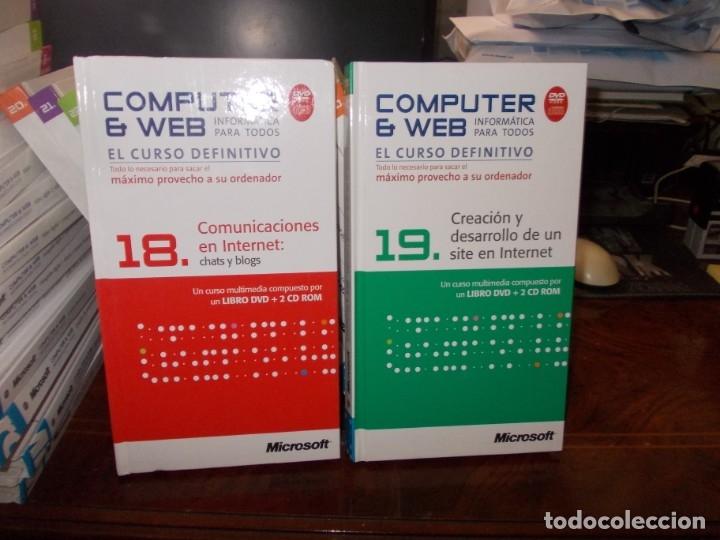 Libros de segunda mano: Computer y Web, 30 tomos El Mundo 2.009. Cada tomo con 3 CD - Foto 17 - 178007935