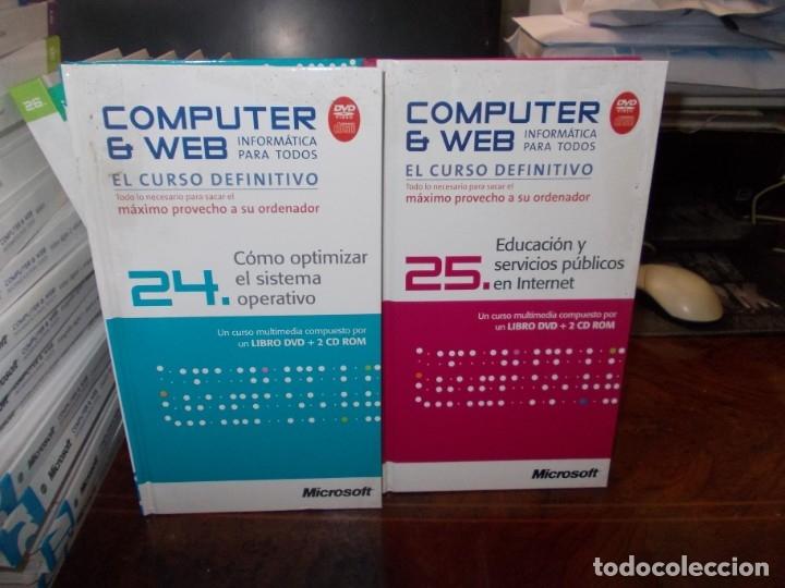 Libros de segunda mano: Computer y Web, 30 tomos El Mundo 2.009. Cada tomo con 3 CD - Foto 20 - 178007935