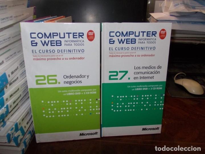 Libros de segunda mano: Computer y Web, 30 tomos El Mundo 2.009. Cada tomo con 3 CD - Foto 21 - 178007935