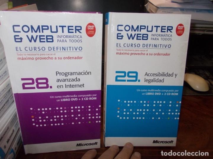 Libros de segunda mano: Computer y Web, 30 tomos El Mundo 2.009. Cada tomo con 3 CD - Foto 22 - 178007935