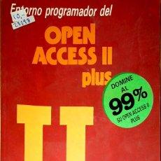 Libros de segunda mano: 23198 - OPEN ACCES II PLUS - POR JUAN LOPEZ BAISSON - EDITORIAL PARANINFO - AÑO 1989. Lote 178633955