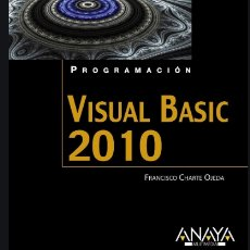 Libros de segunda mano: VISUAL BASIC 2010. Lote 179045596