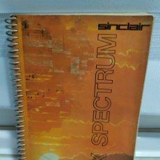 Libros de segunda mano: MANUAL ORDENADOR SINCLAIR ZX SPECTRUM. Lote 179052772