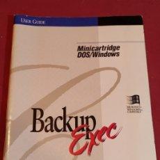 Libros de segunda mano: MANUAL DE USUARIO BACKUP EXEC 1994. Lote 179137688