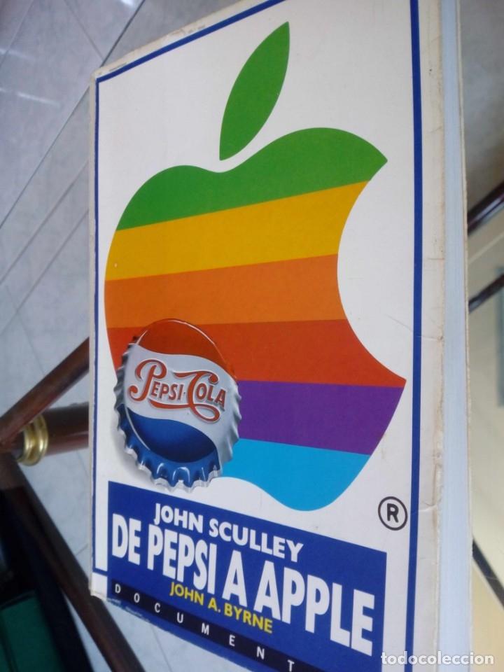 Libros de segunda mano: De Pepsi a Apple. John Sculley - Foto 4 - 179497512