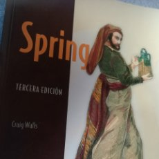 Libros de segunda mano: SPRING CRAIG WALLS EDICIONES ANAYA MULTIMEDIA. Lote 179963326