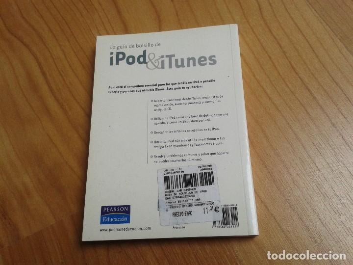 Libros de segunda mano: Ipod & Itunes -- Guía de bolsillo -- Christopher Breen -- Pearson Educación - Foto 3 - 180112760