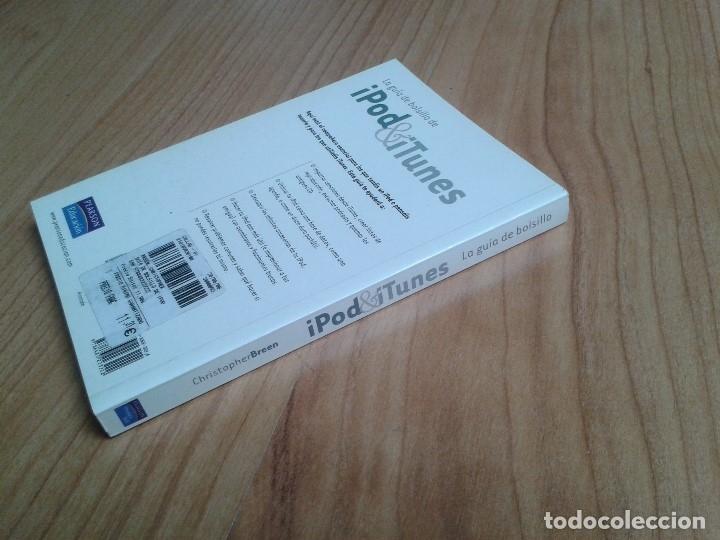 Libros de segunda mano: Ipod & Itunes -- Guía de bolsillo -- Christopher Breen -- Pearson Educación - Foto 4 - 180112760