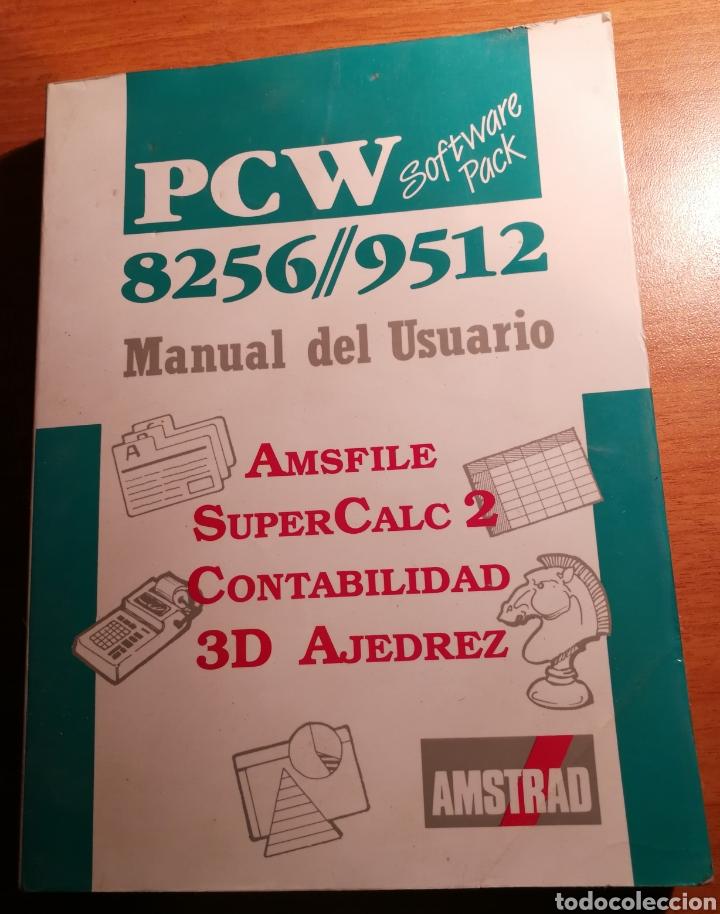 AMSTRAD PCW 8256 / 9512. (Libros de Segunda Mano - Informática)