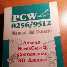 Libros de segunda mano: AMSTRAD PCW 8256 / 9512.. Lote 180165553