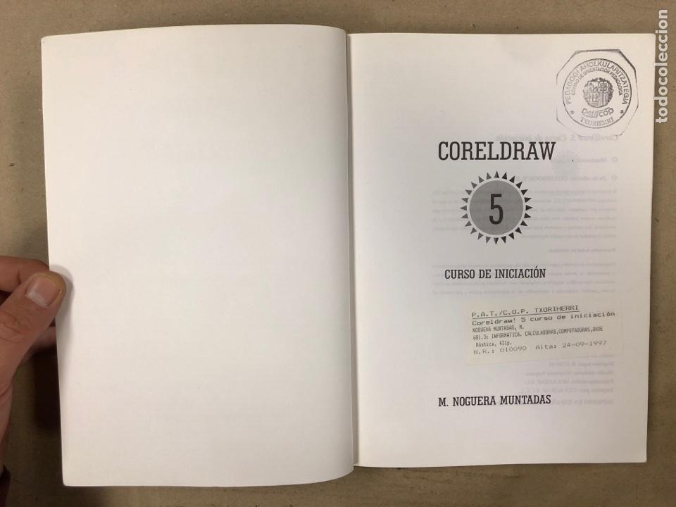 Libros de segunda mano: CORELDRAW! 5 CURSO DE INICIACIÓN. M. NOGUERA MUNTADAS. INFOBOOKS 1995. ILUSTRADO. 431 PÁGINAS - Foto 2 - 180420236