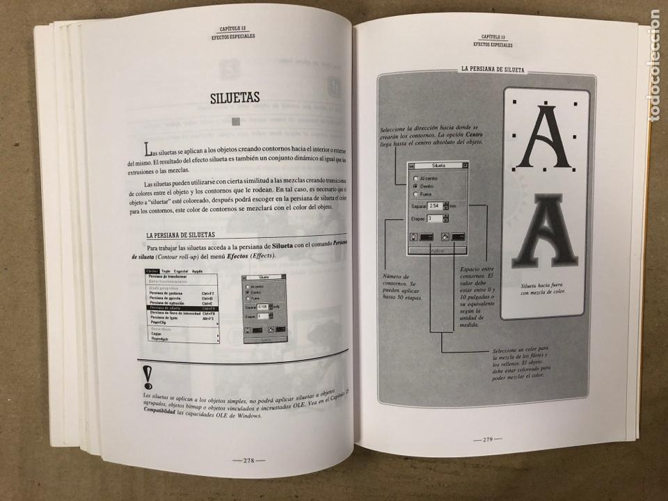 Libros de segunda mano: CORELDRAW! 5 CURSO DE INICIACIÓN. M. NOGUERA MUNTADAS. INFOBOOKS 1995. ILUSTRADO. 431 PÁGINAS - Foto 6 - 180420236