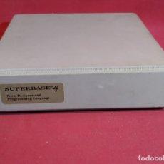Libros de segunda mano: SUPERBASE 4 - DISEÑADOR DE FORMATOS Y LENGUAJE DE PROGRAMACIÓN.. Lote 180446241