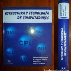 Libros de segunda mano: ESTRUCTURA Y TECNOLOGÍA DE COMPUTADORES. / SEBASTIÁN DORMIDO, Mª ANTONIA CANTO, JOSÉ MIRA, ANA E. DE. Lote 180890466