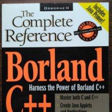 Libros de segunda mano: BORLAND C++: THE COMPLETE REFERENCE. HERBERT SCHILDT. Lote 180934550