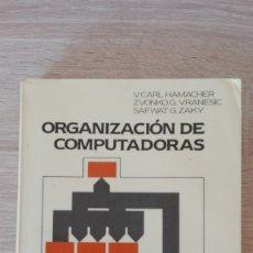 Libros de segunda mano: ORGANIZACIÓN DE COMPUTADORAS-HAMACHER-MCGRAW HILL-AÑO 1987-REGALO DISKETTE 3,5 PC EMULADOR PDP-11. Lote 182079077