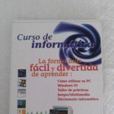 Libros de segunda mano: CURSO DE INFORMÁTICA. LIBRO. Lote 182257985