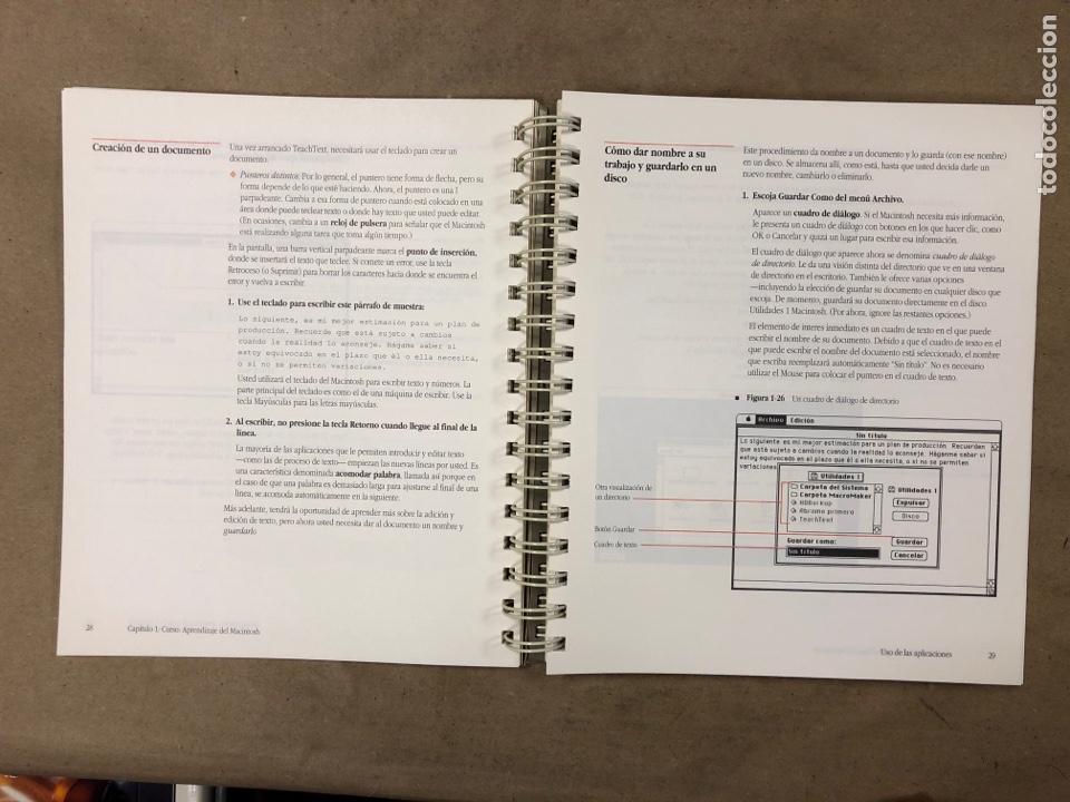 Libros de segunda mano: MACINTOSH SOFTWARE DE SISTEMA VERSIÓN 6.0.4 GUÍA DEL USUARIO. APPLE COMPUTER 1989 - Foto 4 - 182329213